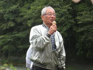 会長L後藤芳の挨拶