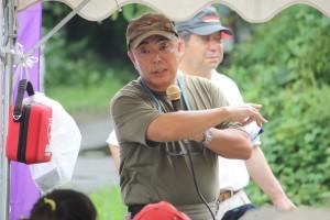 海洋ジャーナリスト永田雅一さん野外授業が始まりました。