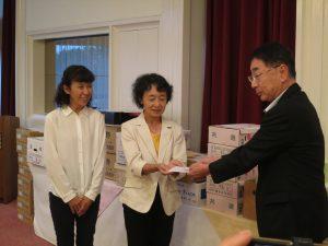 富士宮市地域女性連絡会へ助成金の贈呈