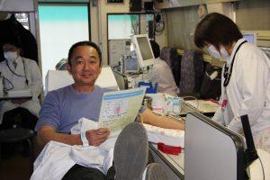 数年ぶりに献血できました!L佐野吉弘