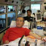 L伊東 献血中!