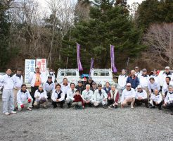富士宮市区長会と総勢40名で行いました。